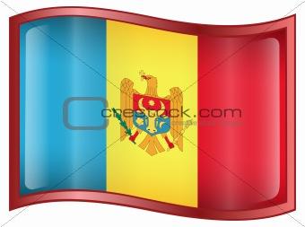 Moldova Flag icon.