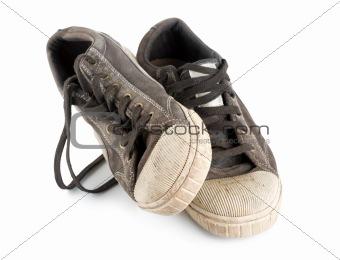 Pair old sneakers