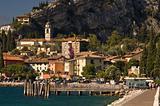 Torbole view (lake Garda, Italy)
