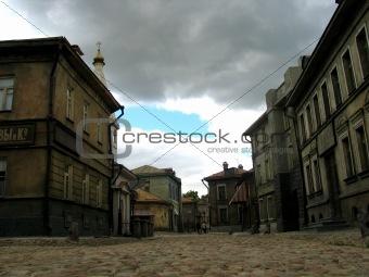 old russian street