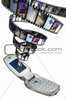 Cellphone movie festival
