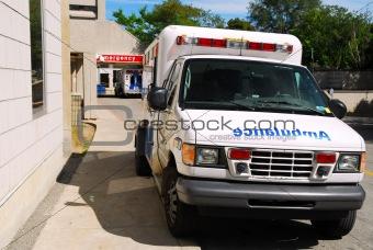 Ambulance at Emergency