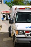 Ambulance at emergency