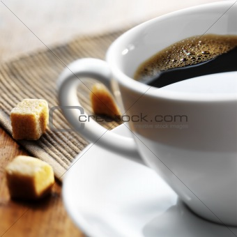 A wonderful Cup of hot coffee