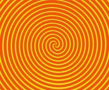 Orange and Yellow Spiral