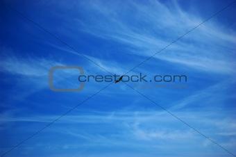 kite against blue sky