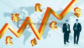Business world map