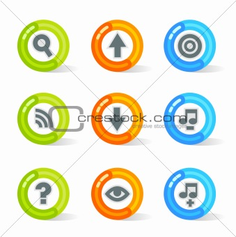 Gel Device Icons (vector)