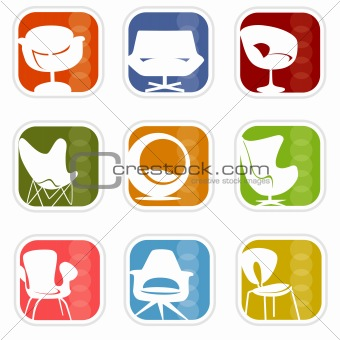 Retro Mod Icons