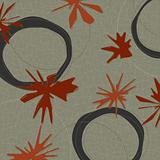 Retro Barkcloth Fabric (Vector)