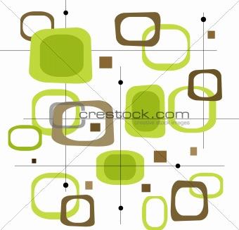 Retro Squares (Vector)