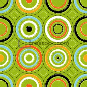 Seamless Concentric Circles (vector)