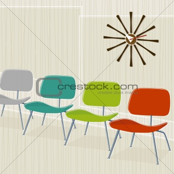 Retro-inspired Chairs