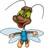 Flying happy bug