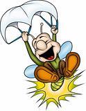 Lightning bug Parachute