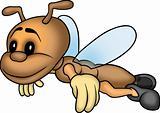 Flying little bee