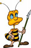 Wasp with spear