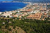 Urbanization of coastal city