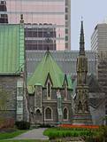 Downtown of Montreal