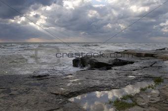 Caspian rocks
