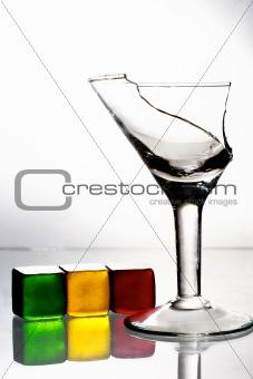 Broken goblet