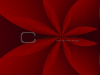 Background with abstract flower