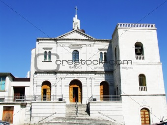 A church of a small country of the southern Italy
