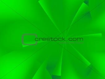 Green asterisk