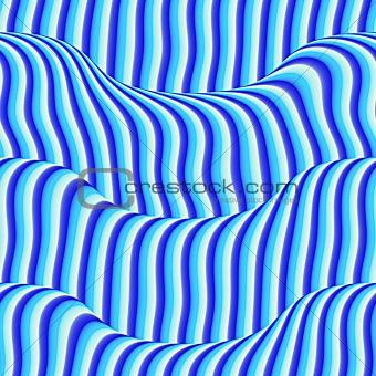 Wavy blue background