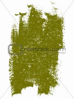 Grunge elements - Dark Yellow Grunge Square