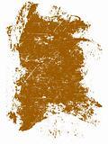 Grunge elements - Orange Grunge Square