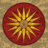 Macedonia sun symbol