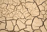 Dry soil - global warming