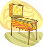 Retro games pinball machine