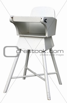 Old Fashioned Baby's Highchair
