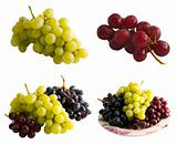 Fresh Isolated Grapes