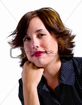 Young Adult Woman Isolated