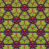 Colorful decorative pattern