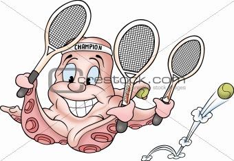 Octopus tenis