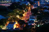 Vista of Taipa village, Macau