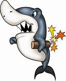 Shark pyromaniac