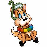 Dog-fox diver