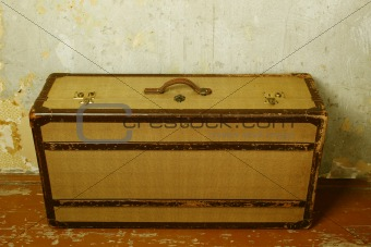 Old-fashioned suitcase