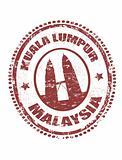 Kuala Lumpur, Malaysia stamp