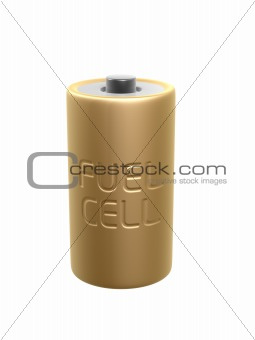 golden fuel cell battery