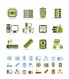 Computer and website icons
