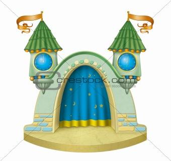 Cartoon stage