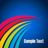 colorful wavy background