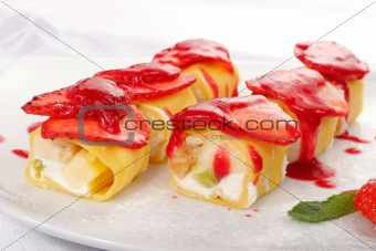 Sweet japanese roll