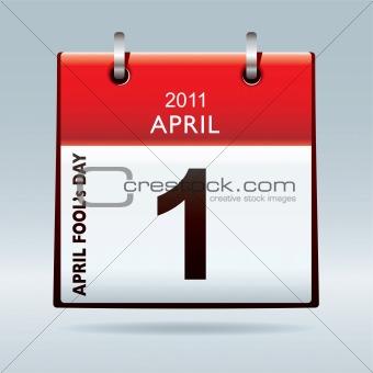 April fools day calendar